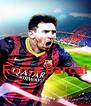Força Barça!  - Personalised Poster A4 size