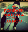 FOREVER MARCITA AND JANCO  - Personalised Poster A4 size