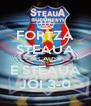 FORTZA STEAUA BECAUSE E STEAUA JOI 3-0 - Personalised Poster A4 size