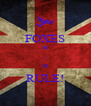 FOXES * ! * RULE! - Personalised Poster A4 size