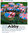 Frantically  Run To Hug Abby  - Personalised Poster A4 size