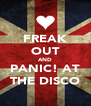FREAK OUT AND PANIC! AT THE DISCO - Personalised Poster A4 size