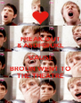 FREAK OUT & ASDFGHJKL 'CAUSE BROLIN WENT TO THE THEATRE - Personalised Poster A4 size