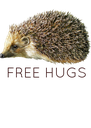 FREE HUGS - Personalised Poster A4 size
