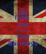 fuck  me it's only The Barmbys - Personalised Poster A4 size