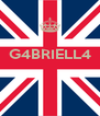 G4BRIELL4    - Personalised Poster A4 size