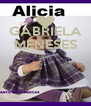 GABRIELA MENESES    - Personalised Poster A4 size