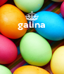 galina     - Personalised Poster A4 size