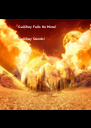 Gallifrey Falls No More!  Gallifrey Stands! - Personalised Poster A4 size