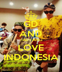 GD AND TAEYANG LOVE INDONESIA - Personalised Poster A4 size