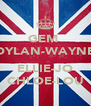 GEM  DYLAN-WAYNE  ELLIE-JO CHLOE-LOU - Personalised Poster A4 size