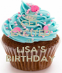 GET  EXCITED IT'S  LISA'S BIRTHDAY - Personalised Poster A4 size