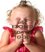 GET EXCITED ONLY 2 DAYS  TO GO - Personalised Poster A4 size