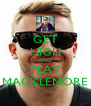 GET HIGH AND PLAY MACKLEMORE - Personalised Poster A4 size