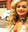 GET  ORA  TO NUMBER 1. - Personalised Poster A4 size