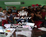 GET READY WE ARE PROM 2014 - Personalised Poster A4 size