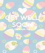 GET WELL SOON DIANA <3   - Personalised Poster A4 size