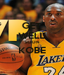 GET WELL SOON KOBE  - Personalised Poster A4 size