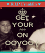 GET YOUR ASS ON OOVOO (: - Personalised Poster A4 size