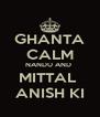 GHANTA CALM NANDU AND  MITTAL  ANISH KI - Personalised Poster A4 size