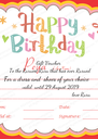 Gift Voucher To the Ruruest Ruru that has ever Rurued For a dress and  shoes of your choice valid  until 29 August 2019                                          love Ruru - Personalised Poster A4 size