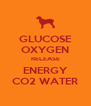 GLUCOSE OXYGEN RELEASE ENERGY CO2 WATER - Personalised Poster A4 size