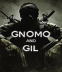 GNOMO AND GIL  - Personalised Poster A4 size