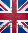 GO CRAZY AND BE A  DIRECTIONER - Personalised Poster A4 size