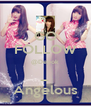 GO FOLLOW @Depok _ Angelous - Personalised Poster A4 size