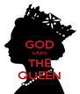 GOD SAVE THE QUEEN - Personalised Poster A4 size