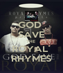 GOD  SAVE THE  ROYAL  RHYMES - Personalised Poster A4 size