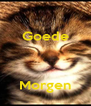 Goede      Morgen - Personalised Poster A4 size