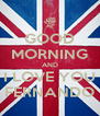 GOOD MORNING AND I LOVE YOU FERNANDO - Personalised Poster A4 size