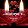GOOD MORNING SALLY YOU ARE DEEP WITHIN MY HEART  LOVE YOU IAN XXXXXXXX - Personalised Poster A4 size