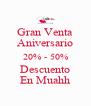 Gran Venta Aniversario 20% - 50% Descuento En Muahh - Personalised Poster A4 size