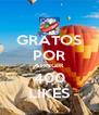 GRATOS POR ATINGIR 400 LIKES - Personalised Poster A4 size