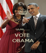 GURL..... VOTE  OBAMA - Personalised Poster A4 size