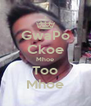 GwaPo Ckoe Mhoe Too Mhoe - Personalised Poster A4 size