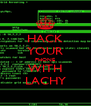 HACK YOUR PHONE WITH LACHY - Personalised Poster A4 size