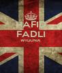 HAFID FADLI WIGUNA   - Personalised Poster A4 size