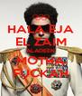 HALA EJA EL ZAIM ALADEEN MOTHA FUCKAH - Personalised Poster A4 size