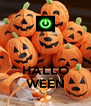 HALLO WEEN - Personalised Poster A4 size
