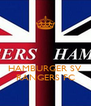 HAMBURGER SV RANGERS FC - Personalised Poster A4 size
