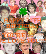 HAPPY 20TH BIRTHDAY NIALL!!!!! YOU'RE 20!!!!! WE LOVE YOU!!!!! - Personalised Poster A4 size