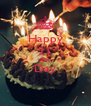 Happy 21 Birth Day  - Personalised Poster A4 size