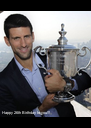 Happy 26th Birthday to you!!!  #Nolefam - Personalised Poster A4 size