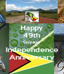 Happy 49th Guyana Independence Anniversary - Personalised Poster A4 size