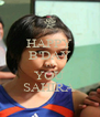 HAPPY B'DAY TO YOU SAHIRA - Personalised Poster A4 size