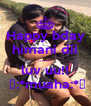 Happy bday himani dii ....... luv uu!!  😚:*muaha:*😘 - Personalised Poster A4 size