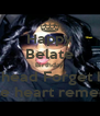 Happy Belate Birthday The head Forget but... The heart remenb - Personalised Poster A4 size